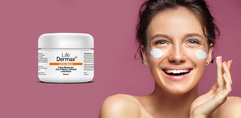 life dermax crema viso antiage